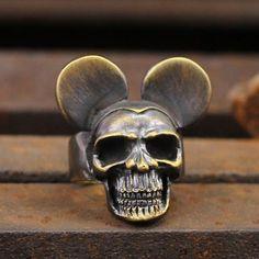 Geek Jewelry, Skull Jewelry, Gothic Jewelry, Bullet Jewelry, Jewellery, Copper Rings, Sterling Silver Rings, 925 Silver, Opal Rings