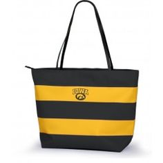 Iowa Hawkeyes Game Day Rugby Tote , buy it today on www.TotallyCollegiate.com.