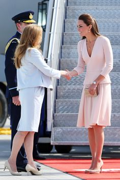 The Royal Couple Hangs in Adelaide — Part 2  In This Photo: Kate Middleton Catherine, Duchess of Cambridge arrives at RAFF Base Edinburgh on...
