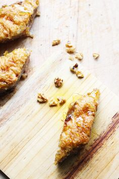 Easy Baklava Recipe With Walnuts, Dates & Fig Jam. These step-by-step instructions will show you how easy it is to make this authentic Baklava recipe. Walnuts, dates and coconut make the filling with the help of a food processor and fig jam makes a wonderful baklava syrup.