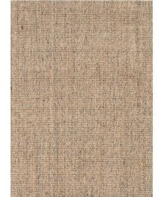 - Heathered Sisal Rug - made from 100% sisal - beautifully heathered pattern with shades of tan and charcoal grey - available in the following sizes: - 2' x 3' -- $75.00 - 3' x 5' -- $168.00 - 5' x 8'