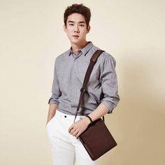 Yoo Yeon Seok for Beanpole Accessories S/S 2015 A Werewolf Boy, Yoo Yeon Seok, Kang Seung Yoon, Hot Asian Men, Kim Jin, Gorgeous Men, Korean Actors, Bigbang, Boy Bands
