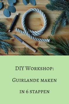 DIY Workshop: Toef maken in 6 stappen - Sue's Botanica Christmas Canvas, Christmas Room, Christmas Crafts, Xmas, Driving Home For Christmas, Christmas Greenery, Deco Floral, Christmas Wrapping, Holidays And Events