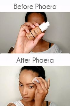 We get you. It is not easy to find a good foundation for oily, acne, scarred or pigmented skin. The formula has to be full coverage but not cakey, light-weight but long-lasting, matte but not drying. If you have the above skin types, PHOERA Soft Matte Full Coverage Liquid Foundation will be a game changer for you. Get yours at Stealth Beauty! Best Makeup Tips, Best Makeup Products, Makeup Tricks, Makeup Videos, Beauty Products, Liquid Foundation, Best Foundation For Oily Skin, Full Coverage Foundation, Make Up