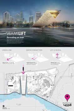 [A3N] : Landmark Miami Design Competition Winners 2013 ( 1st Prize  : MIAMI LIFT ) /  Studio Dror (USA).