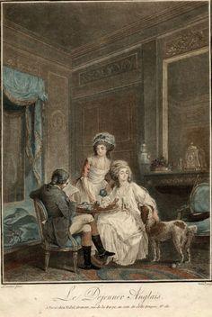 Le Déjeuner Anglais (The English Breakfast), Nicolas Lavreince, around 1785