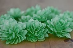 10 Emerald Wood Wedding Flowers Bouquet Flowers by companyfortytwo, $25.00