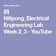 Service manual tv led free download led tv pinterest 8 nitipongelectrical engineering lab week 23 youtube fandeluxe Choice Image
