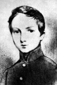 Baudelaire at the age of 13