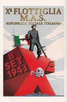 Xa Flottiglia MAS Repubblica Sociale Italiana #TuscanyAgriturismoGiratola, pin by Paolo Marzioli