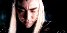 """""""His eyes are begging: 'Please, don't go... stay. You are all I have...' and that is the saddest thing of the scene, which is also sad. Even if Thranduil gave him the idea of going after Aragorn, he didn't really want him to go. And when he said 'Your mother loved you. More than anything. More than life' he actually meant 'I love you. More than anything. More than life'. Thranduil can love. Thranduil still has a heart."""""""