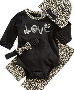 Baby Clothes at Macy's - Newborn $16.99.. this will be my daughter's coming home outfit when I have one :)