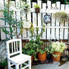 女性で、Otherのイケア/ガーデニング/we.OTOKOMAE.want/関西好きやねん会/しゃれとんしゃあ会…などについてのインテリア実例を紹介。(この写真は 2016-01-20 13:32:45 に共有されました) Small Outdoor Spaces, Backyard, Patio, Garden Styles, Food Design, Home Deco, Gardening Tips, Diy And Crafts, Outdoor Structures