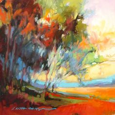 Lori Keith Robinson #art #paintings #trees #landscapes http://artsyforager.wordpress.com/2011/09/02/friday-forager-faves-treehuggers/