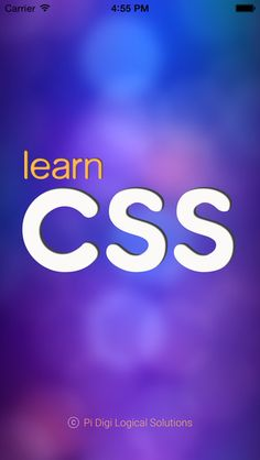 One more iOS app to our e-learning app category! 'Learn CSS - Quick CSS Tutorial' for web developers. Download Link: https://itunes.apple.com/us/app/learn-css-quick-css-tutorial/id953444268?mt=8 #learncss #css #iosapps