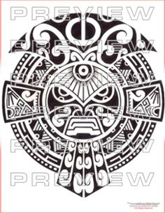 black tribal hawaiian tattoo stencil polynesian armband tattoos tribal stencil pinterest. Black Bedroom Furniture Sets. Home Design Ideas