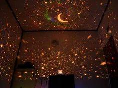 Lampu Projektor Unik Star Rotate Light