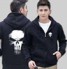 #BestPrice #Fashion The Punisher Skull mens hoody 2016 new autumn winter high quality men sweatshirt tracksuit hip hop style hoodie brand…
