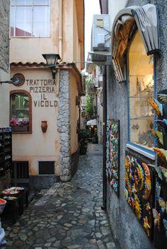Castelmola Sicilia, Italy