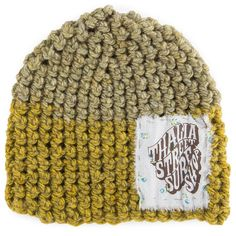Thalia Surf Old Times Patch Crochet Beanie