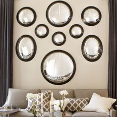 Alastair Convex Mirror | Ballard Designs