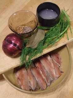 Making your own pickled herring is actually very simple