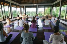 Located in the beautiful island of Bali in Indonesia, lies this beautiful Yoga Studio. Strengthen your inner and outer self by practicing Yoga with a view that instantly puts you at ease.