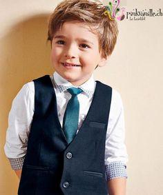 Pinkvanille.ch Hochzeitsanzug für Jungs Anzug für Kinder Veston für Knaben Festmode für Kinder Prinzessinnenkleid