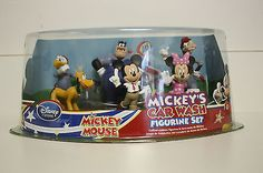 Disney Store Mickey Mouse Clubhouse MICKEY'S CAR WASH Figurine Figure Play Set