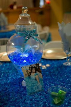 photos of texas quinceanera decorations | quinceanera reception houston texas butterflies turquoise 13 | Flickr ...
