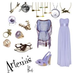 Fashion inspired by Artemis