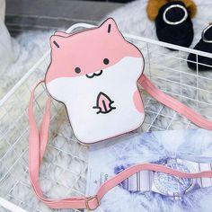 Kawaii Hamster Crossbody Bag