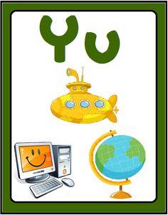 Το πιο ωραίο σχολειο είναι το Νηπιαγωγείο: Κάρτες Γραμμάτων Yoshi, Blog, Fictional Characters, Blogging, Fantasy Characters