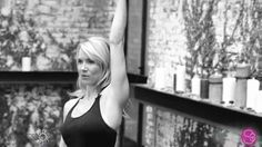 This Side Triangle move with weights packs a one two punch for keeping extra pounds at bay.