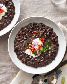Recipe: Cuban Black Bean Soup — Quick and Easy Weeknight Dinners