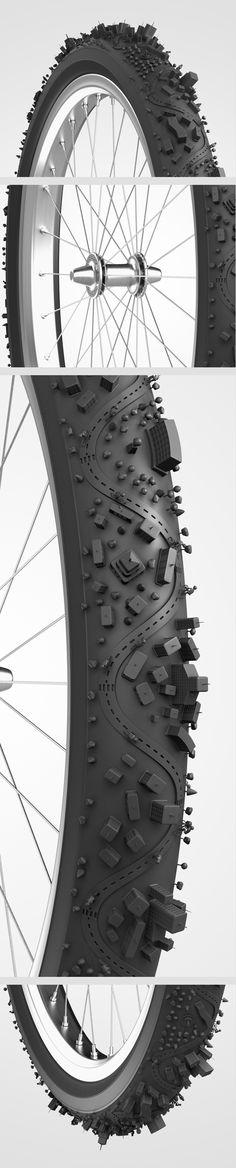 Bike City by Bruno Ferrari - em detalhes