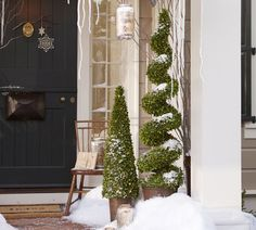 Love the door--Pottery Barn has the best doors. I could pin their whole catalog!