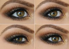 Smokey Brown eyeshadows