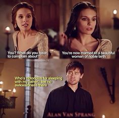 // Reign // Bash and Kenna // We all know why the king made her marry bash it was to keep her in court and close to him!