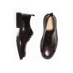 Budapester Fringes Derby by Dries Van Noten available at ROMA SHOES Zurich…