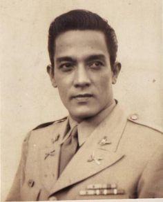 Leopoldo Salcedo dressed in military uniform for one of his films. Filipino Culture, Filipiniana, Manila Philippines, Pinoy, Celebs, Celebrities, Nostalgia, Films, Cinema