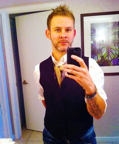 Dominic Monaghan. when you're almost forty and take better selfies than 90% of teenagers
