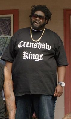 Be Wild Crenshaw Kings Thug Life T-Shirt as seen on Unknown Character in Get  Hard 06ada0594ab7