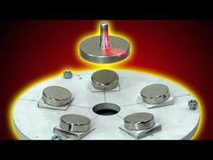 LEVITRON MAGNETIC LEVITATION ON THE CONSTANT MAGNETS OF LEVITRON CASERO IGOR BELETSKY - YouTube