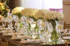 White Flowers | Flores Brancas | Arranjos de Flores | Flower Arrangement | Casamento | Wedding | Inesquecível Casmento