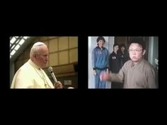 Lost Footage Of The Pope Defeating Kim Jong Il At Rock, Paper, Scissors