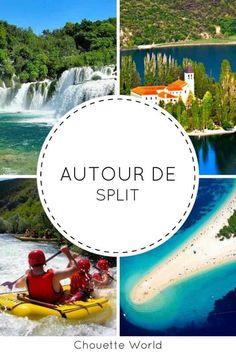 5 idées d'excursions autour de Split #croatie #croatia #roadtrip #split