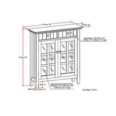 """Shop WYNDENHALL Hampshire Solid Wood 40 inch Wide Transitional Entryway Storage Cabinet - 40""""w x 15""""d x 36"""" h - On Sale - Overstock - 10467050 Entryway Storage Cabinet, Adjustable Shelving, Hampshire, Solid Wood, How To Memorize Things, Oasis, Shop, Bedroom, Hampshire Pig"""
