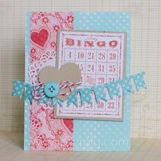 LOVE FEST BINGO! by stamp_momma - Cards and Paper Crafts at Splitcoaststampers