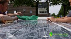 Installatie Zonnepanelen Op De Camper